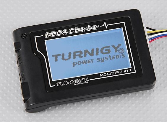 Turnigy Mega Comprobador 4-en-1 de la batería del inspector / Monitor