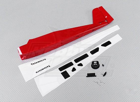 Telemicro 520mm - Sustitución del fuselaje Conjunto