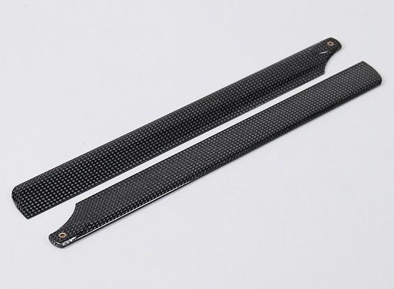325mm fibra de carbono principal Cuchillas