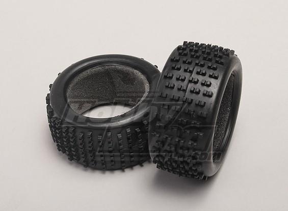 Los neumáticos w / espuma Inserción (2pcs / bolsa) - 1/18 4WD On-Road Drift Car
