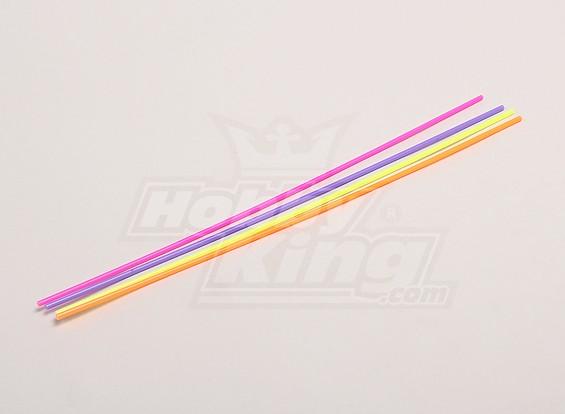 Antenas tubulares (30 cm) - 1/18 4WD RTR en carretera la deriva / Short Course / Racing Buggy (4pcs)