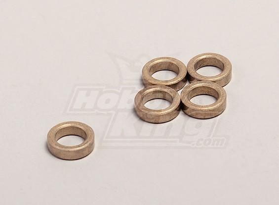 12 * 3.5 * 8 mm Oilite buje (5pcs / bolsa) - 1/18 4WD RTR en carretera la deriva / Short Course