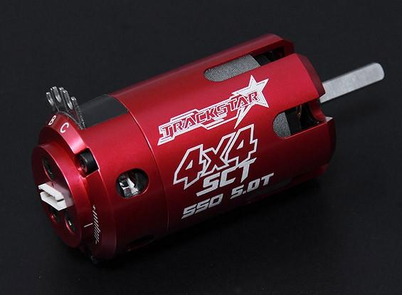 Turnigy TrackStar SCT 5T Sensored 4150KV motor sin escobillas (550 tamaño)