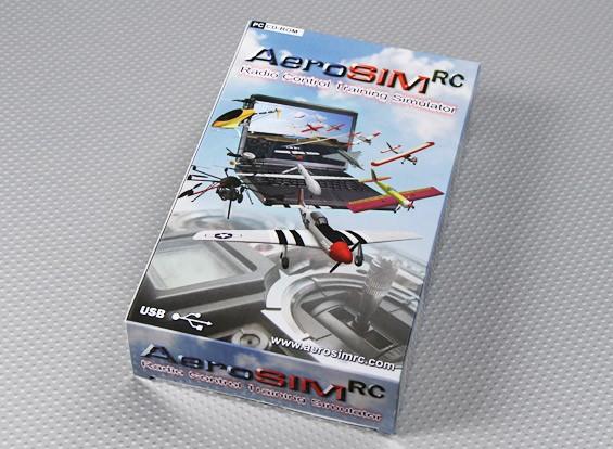 AeroSIM RC función multi-sistema simulador de vuelo