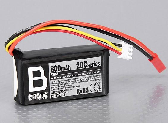 Batería B-Grado 800mAh 20C Lipo 2S