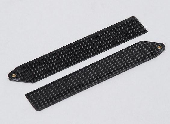 La fibra de carbono principal de la lámina de 110 mm para MCPX (1 par)