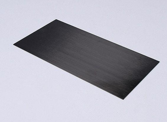 La fibra de carbono hoja de 1,5 mm * 300 mm * 150 mm