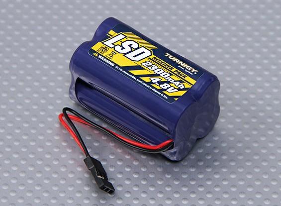 Receptor Turnigy 2300mAh paquete de 4.8V NiMH
