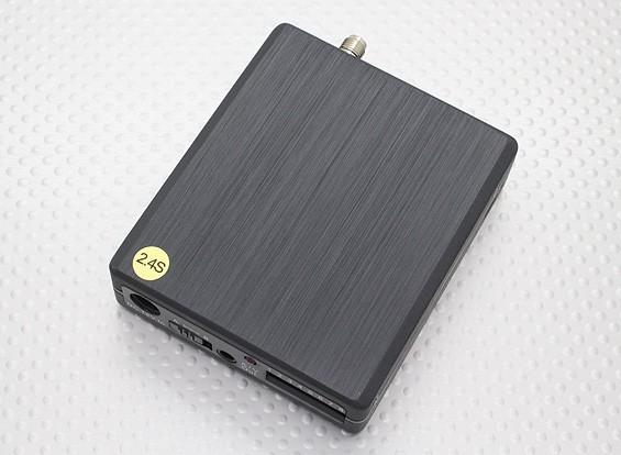 Lawmate RX-2460 de 2,4 GHz 8Ch hilos de A / V Receiver