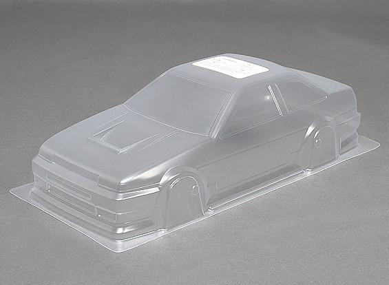 1/10 DR86 sin pintar coches carrocería w / Adhesivos