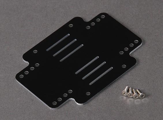 Turnigy HAL montaje de la batería de la placa