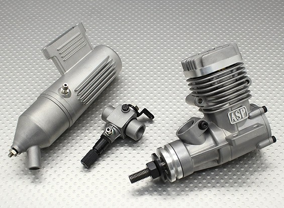 ASP S25A Motor de dos tiempos Glow