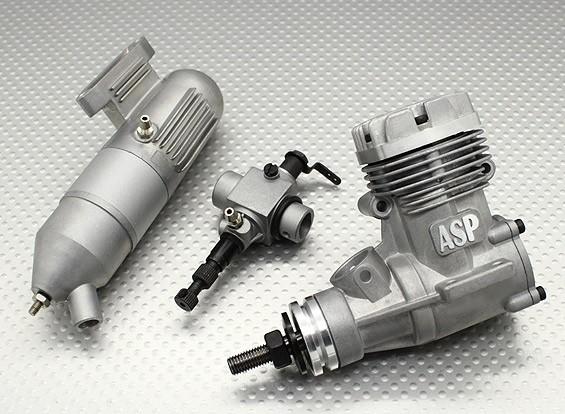 ASP S32A Motor de dos tiempos Glow