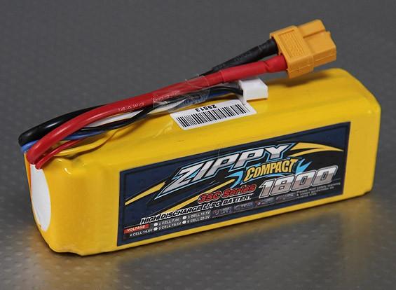 Lipo 35C Paquete ZIPPY Compacto 1800mAh 4S