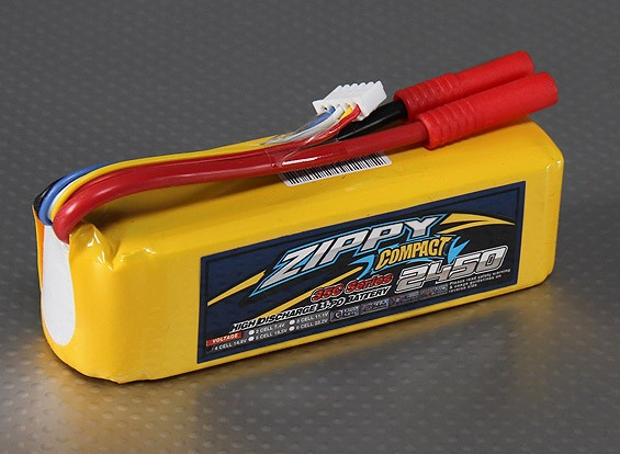 Lipo 35C Paquete ZIPPY Compacto 2450mAh 4S