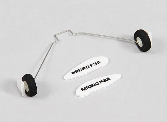 Durafly ™ F3A Micro 420mm - Sustitución del tren de aterrizaje