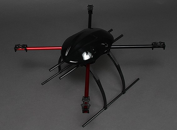 550mm Marco AQ-600 de fibra de carbono Quadcopter
