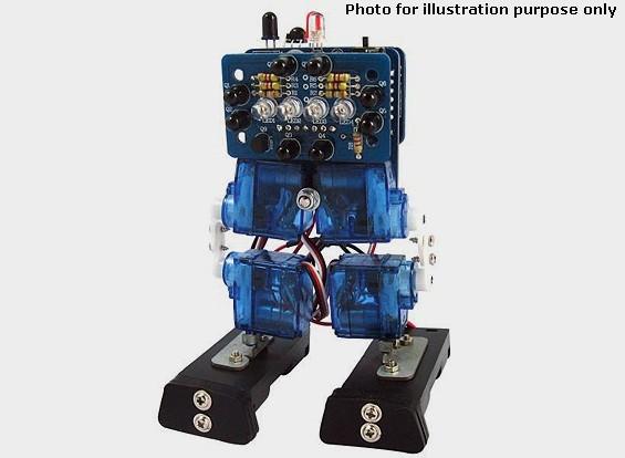 Mini robot bípedo Interactiva (KIT)