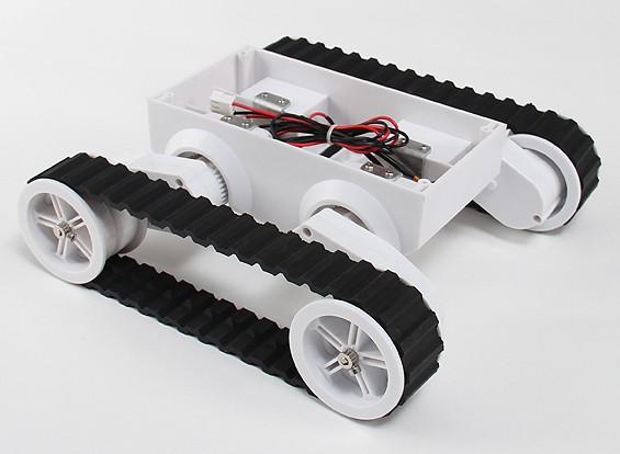 Rover 5 orugas chasis de la robusteza
