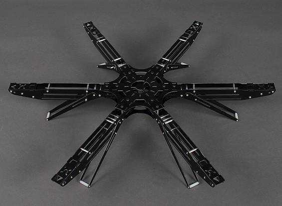 600 mm Marco SEIS fibra de vidrio Hexcopter