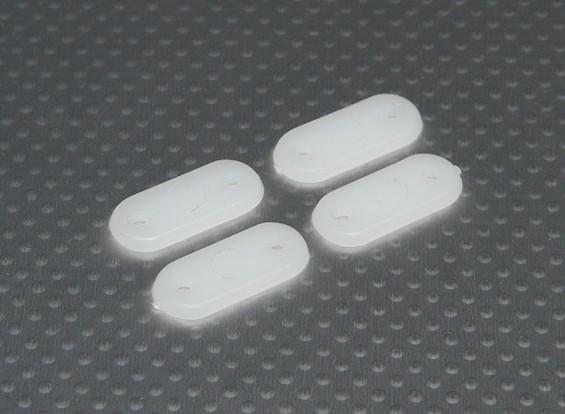 Las placas de engranaje 28x13mm (4pcs / set)