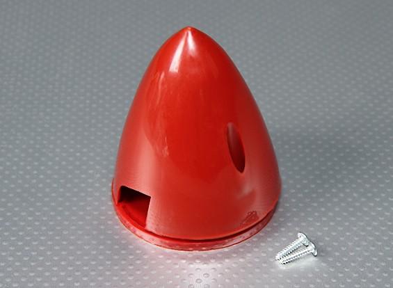 70mm Nylon Spinner (rojo)
