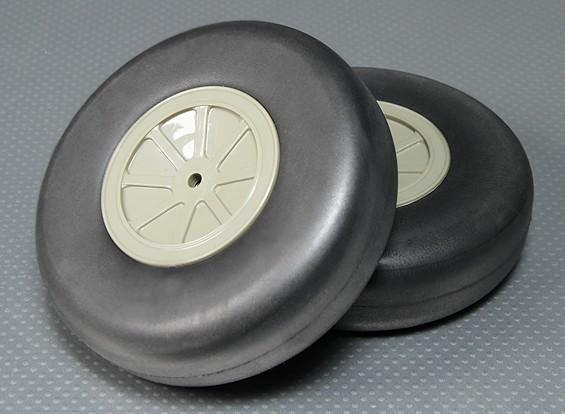 Rueda espuma ligera (Diam: 127, Anchura: 38 mm) (2pcs / bag)