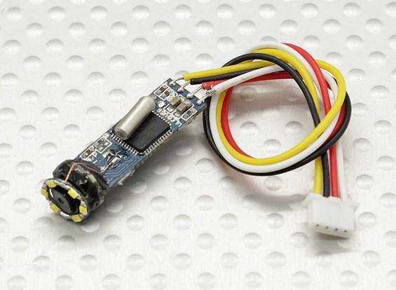 Micro cámara con la lámpara LED 420TVL