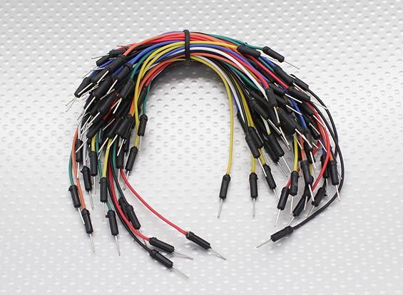 Kingduino tablero de pan del puente ajustado con 7 colores / alambres de la longitud con el contacto de Final
