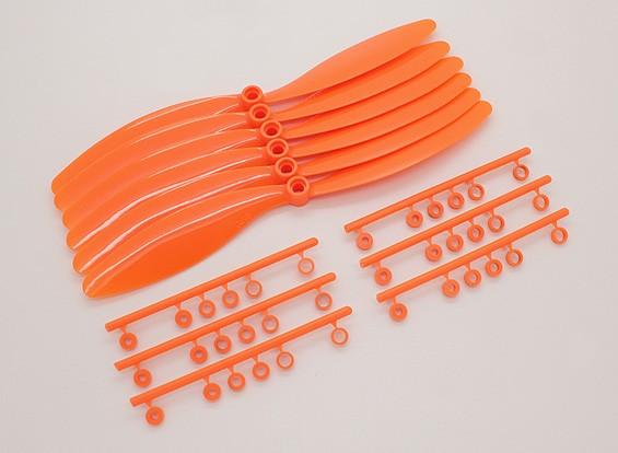 Contador GWS EP hélice giratoria (RH-8060 203x152mm) Naranja (6pcs / set)