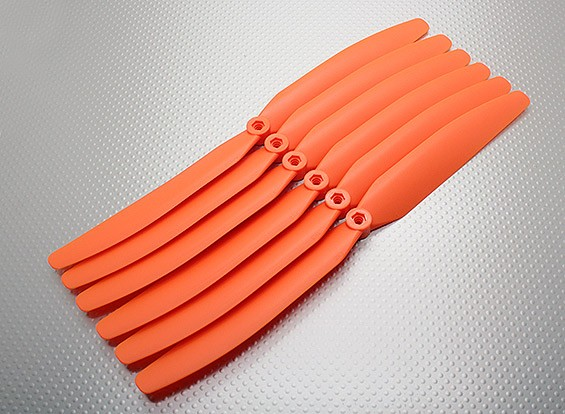 GWS EP hélice (DD-1170 279X178mm) Naranja (6pcs / set)