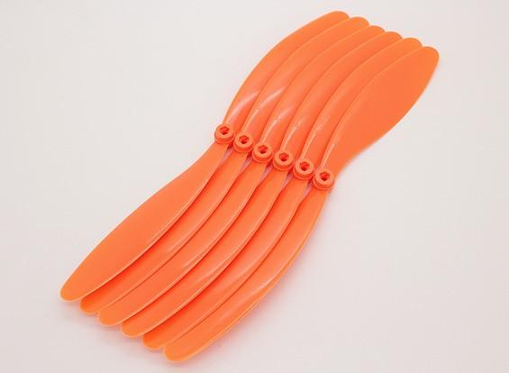 GWS EP hélice (DR-1080 254x203mm) naranja 6pcs / bolsa