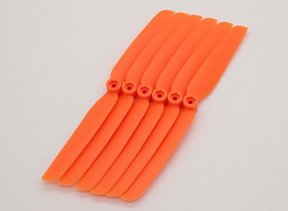 GWS EP hélice (DD-6030 152x76mm) naranja (6pcs / set)