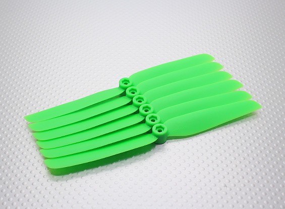 GWS EP hélice (DD-6030 152x76mm) verde (6pcs / set)