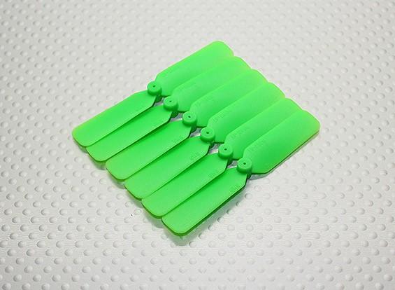 GWS EP hélice (DD-2508 65x20mm) verde (6pcs / set)