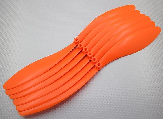 GWS EP hélice (DR-1390 330x228mm) Naranja (6pcs / set)