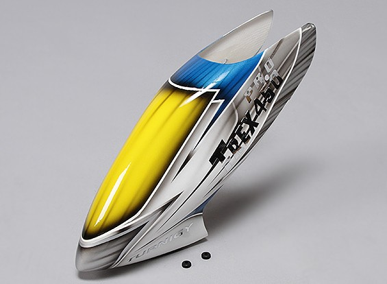 Turnigy High-End de la fibra de vidrio del pabellón de Trex / HK 450 PRO