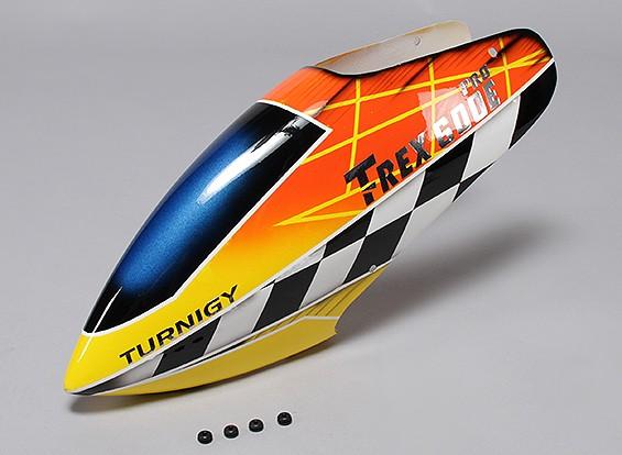 Turnigy High-End de la fibra de vidrio del pabellón de Trex 600E PRO