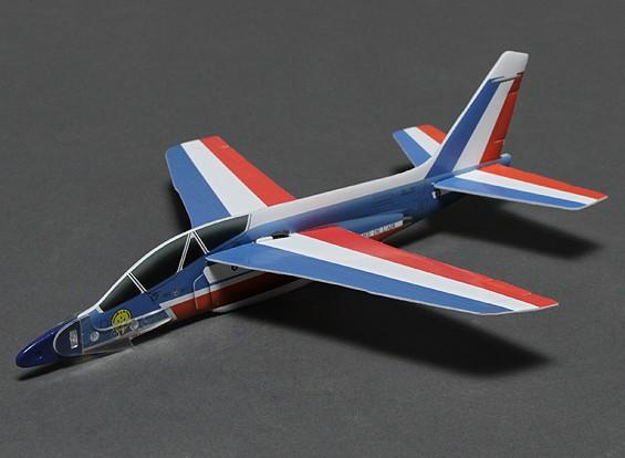 Alpha Jet w / lanzador de catapulta 252mm Span