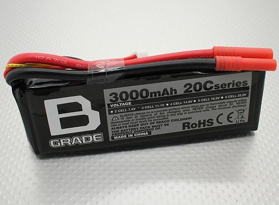 Batería B-Grado 3000mAh 3S 20C Lipo