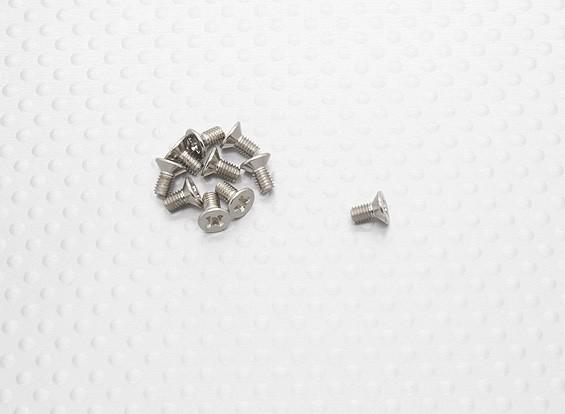 ISO3 * 6 Tornillos FH - A2031 (10 piezas)