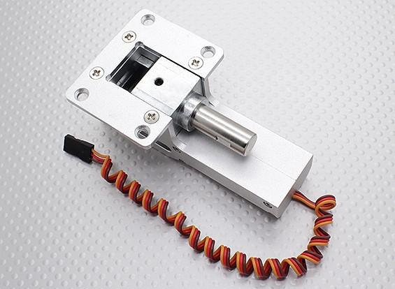 Todos los metales Servoless 90 grados de retracción de modelos de gran tamaño (10 ~ 12 kg) w / 10mm Pin