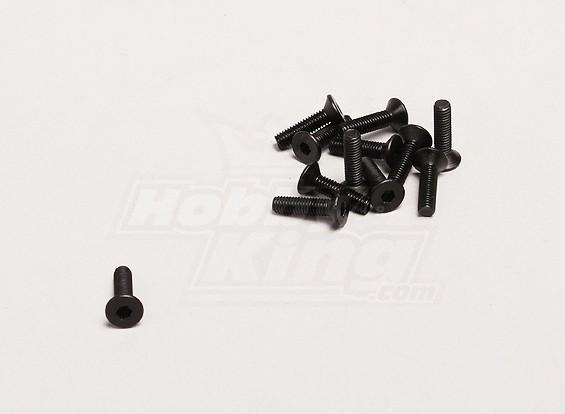 M3x12mm Tornillo hexagonal (12pcs / bag) - Turnigy Trailblazer XB y XT 1/5