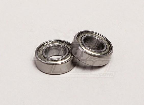 Cojinete de bolas 6x12x4mm (2pcs / bolsa) - Turnigy Trailblazer 1/8, 1/5 XB y XT