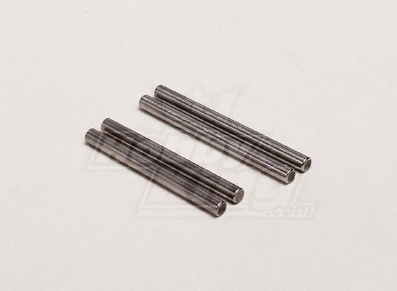 Suspensión delantera Brazo Pin corto (4pcs / bolsa) - Turnigy Trailblazer 1/8, 1/5 XB y XT