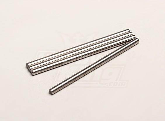 Pin suspensión de brazo largo (4pcs / bolsa) - Turnigy Trailblazer 1/8, 1/5 XB y XT