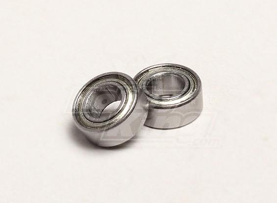 Cojinete de bolas 5x10x4mm (2pcs / bolsa) - Turnigy Trailblazer 1/8, 1/5 XB y XT