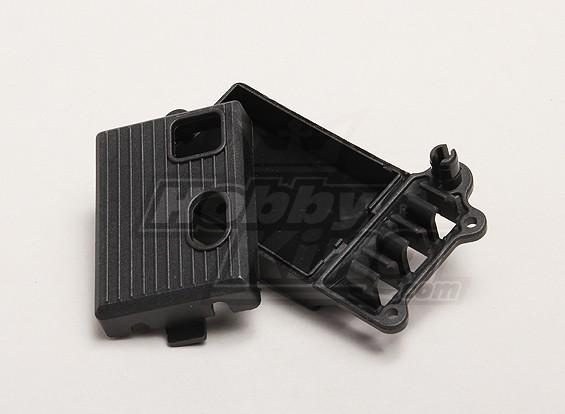 Receptor de la cubierta superior / inferior - Turnigy Trailblazer 1/8, 1/5 XB y XT