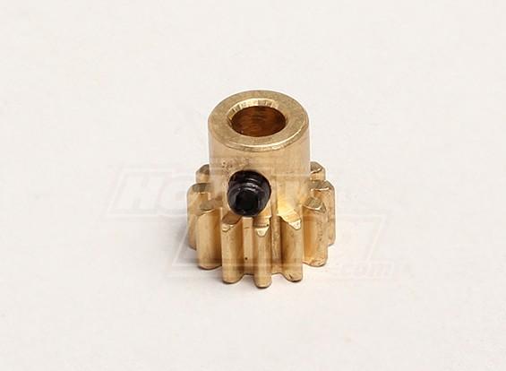 Motor del engranaje de piñón 12T w / M4 tornillo de cabeza hendida - Turnigy Trailblazer 1/8