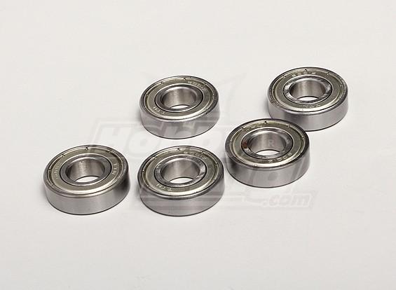 Cojinete de bolas 12x28x8mm (5pcs / bolsa) - Twister Turnigy 1/5